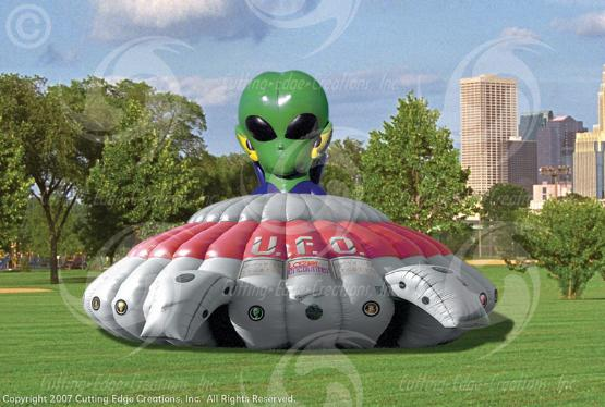 Tactical Lasertag (with either UFO or Bunker themed-inflatable